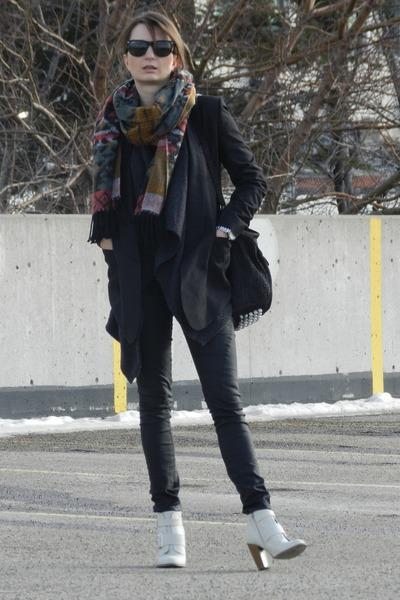 bano eemee blazer - Zara sweater - Alexander Wang bag - Zara pants