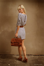 Michael Kors wedges - GINA TRICOT dress