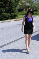 American Apparel dress - Boscovs vest - Not Rated shoes - Atomic Warehouse acces