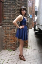 American Apparel dress - unknown belt - forever 21 shoes - Wet Seal necklace - T