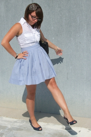 BB Dakota dress - payless shoes - Icing accessories - Ezekiel purse