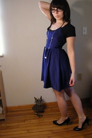 American Apparel dress - Wet Seal necklace - ENR shirt - Target shoes