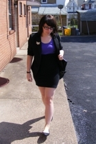 Salvation Army blazer - American Apparel dress - 7th Avenue shoes - Atomic Wareh