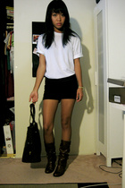 volcom shirt - shorts - Steve Madden shoes