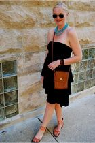 Jcrew dress - Steve Madden shoes - coach purse - Ten Six Twenty bracelet - Ray B