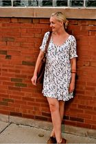 Contempo dress - Steve Madden shoes - coach purse