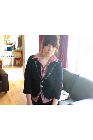 blazer - shirt