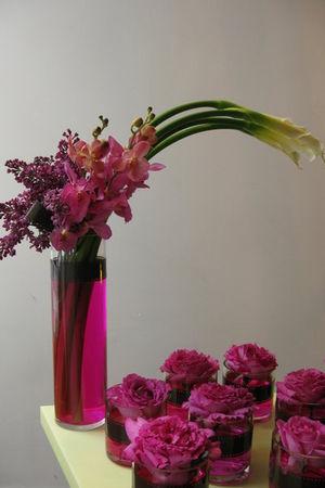 pink FLORA accessories