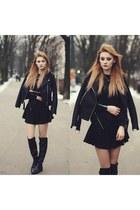 black monashe blouse