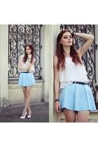 aquamarine Sheinsidecom skirt