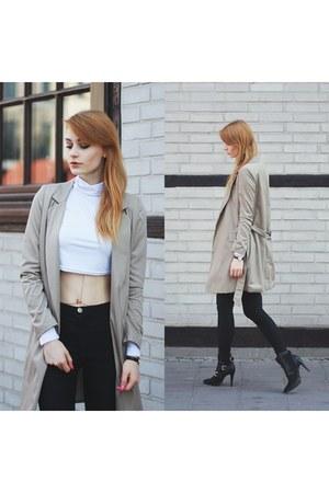 dark khaki Yoins coat