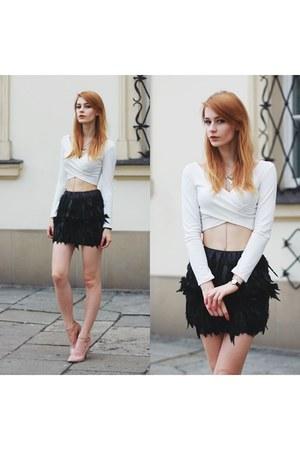 black PERSUNMALL skirt