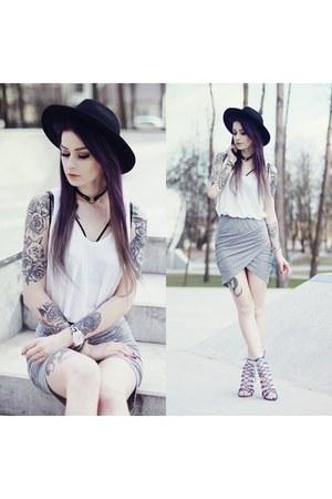 periwinkle Sheinsidecom skirt