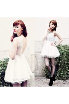 white dresslily dress