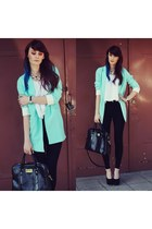 light blue Sheinsidecom blazer