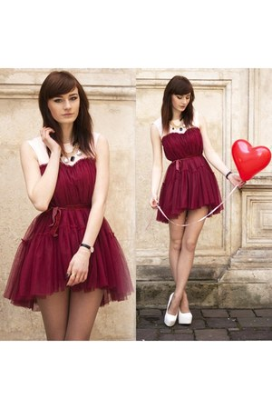 red Chicwish dress