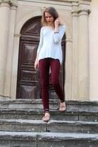 Zara jeans - Zeman bag - Zara sandals - Zara top