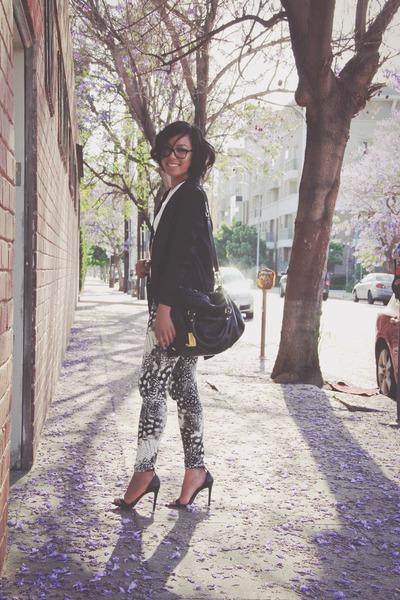 H&M blazer - H&M pants - Zara heels
