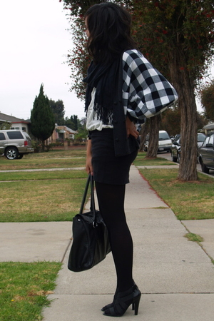 vintage jacket - H&M shirt - Urban Outfitters skirt - Target socks - Target shoe