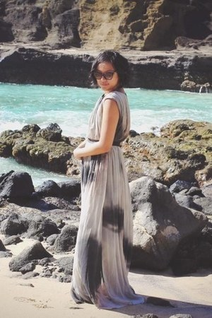 Zara dress - dior sunglasses