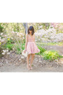 Gold-crossroads-trading-ring-light-pink-asos-dress