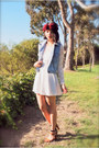 Lace-bow-beginning-boutique-dress-denim-levis-vest