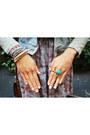 Light-pink-miravera-bracelet-aquamarine-wrap-silk-tinnlily-bracelet