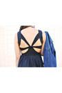 Bronze-sequin-beginning-boutique-dress-tawny-aldo-boots-blue-lei-jacket