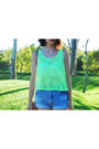 Lime-green-tank-victorias-secret-top-hot-pink-tank-victorias-secret-top