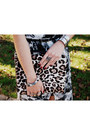 Silver-crossroads-trading-ring-brown-leopard-kurt-geiger-bag
