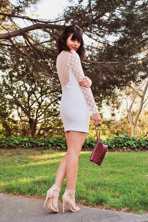 polka dot lace Agaci dress - clutch Hobo The Original bag
