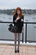 Le Black Book Tights accessories - Fendi Spy accessories - AA Double U Dress dre