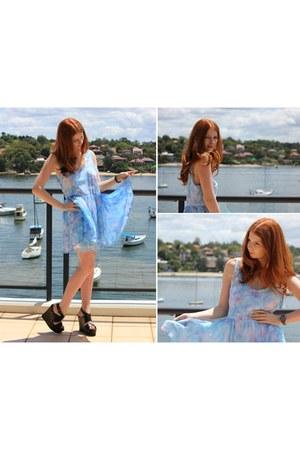 May Lyla Dress dress - Chanel watch