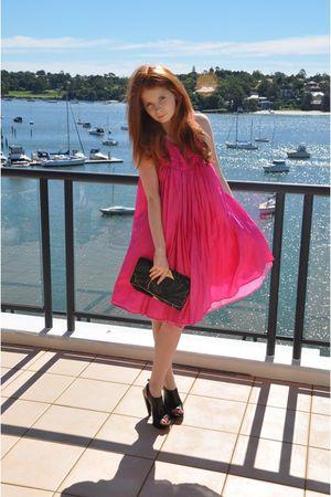 pink Kirrily Johnston Reversible Dress dress