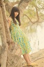 Lime-green-vintage-dress