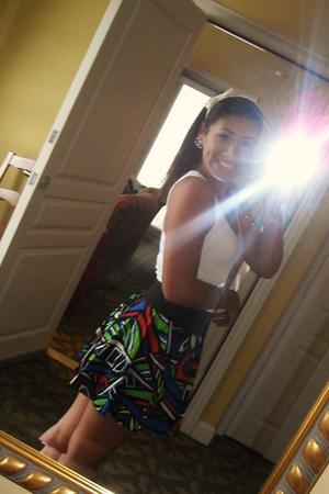 top - skirt