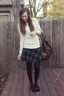 Cream-cable-knit-forever-21-sweater-dark-brown-urban-outfitters-bag