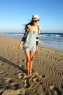 Neutral-straw-forever-21-hat-navy-striped-anthropologie-sweater