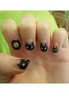 black cats nail art accessories