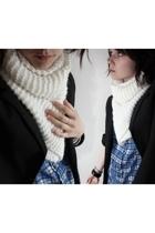 Zara shirt - H&M scarf - jacket - H&M bracelet