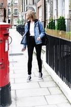 Bershka jacket - Converse sneakers