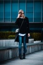 Topshop coat - Ebay bag