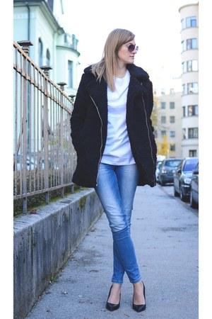 Zara jeans - asos shirt