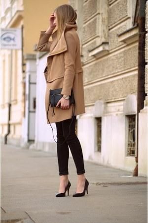 H&M bag - Bershka heels - Zara pants