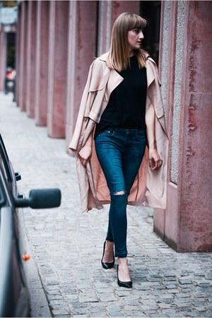 Front Row Shop coat - H&M shirt
