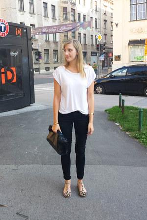 Zara bag - Zara flats - Primark pants