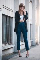 asos jeans - Front Row Shop blazer