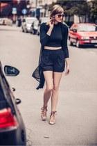 H&M shorts - Ebay cardigan