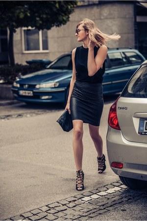 Zara bag - Glamorous skirt