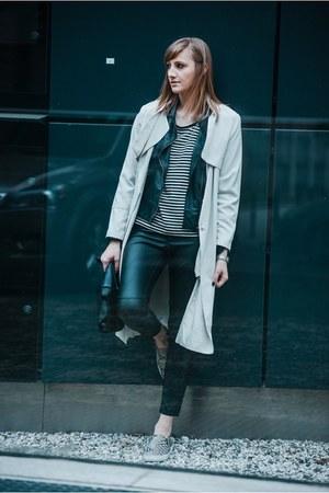 H&M coat - Zara bag
